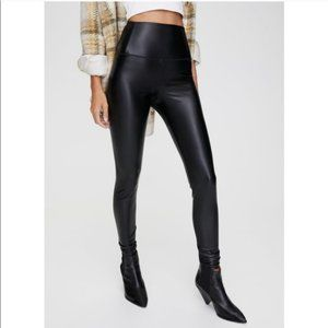 Wilfred Free -Faux Leather Leggings